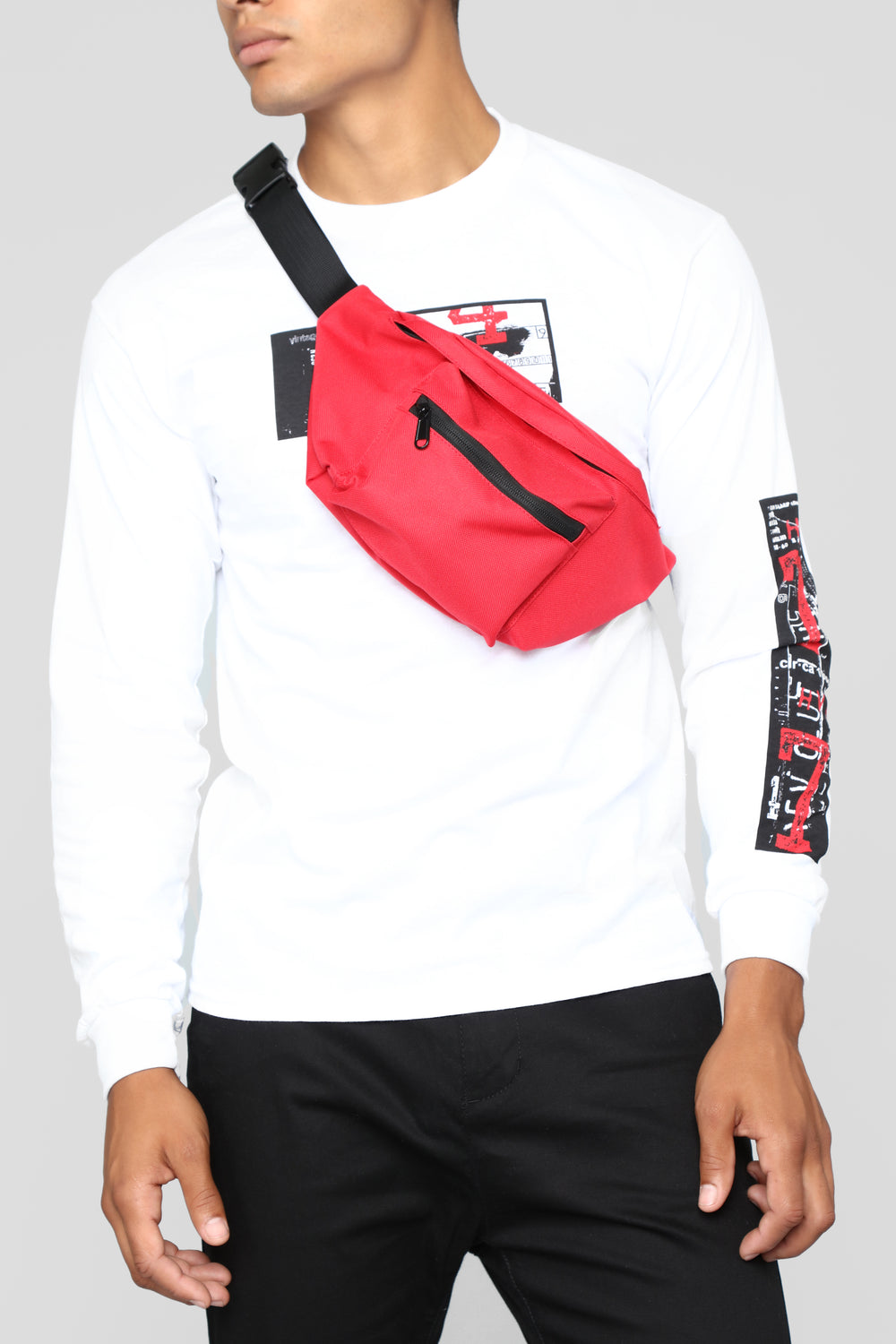 Casey Fanny Pack - Red