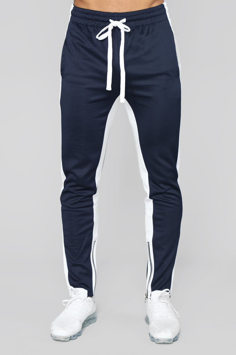 Bobby Track Pant - Blue/Combo