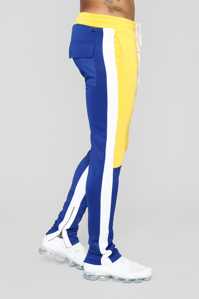 Union V2 Track Pants - Blue