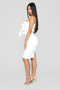 Out All Night Dress - Ivory