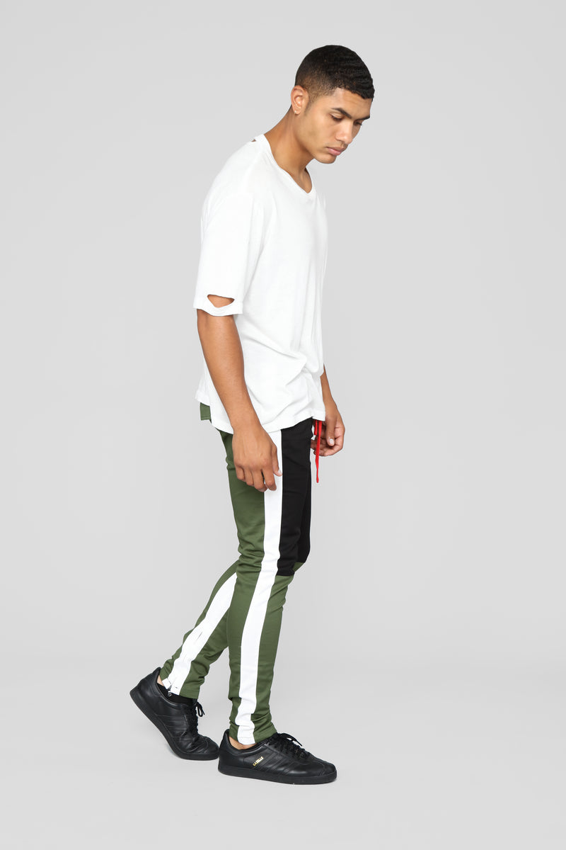 Mathis Twill Jogger - Olive