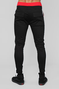 Mathis Twill Jogger - Black