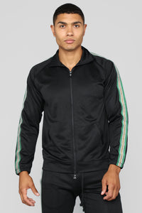 Bada Track Jacket - Black