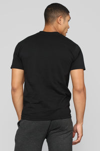 Surfer Rat Black Tee - Black
