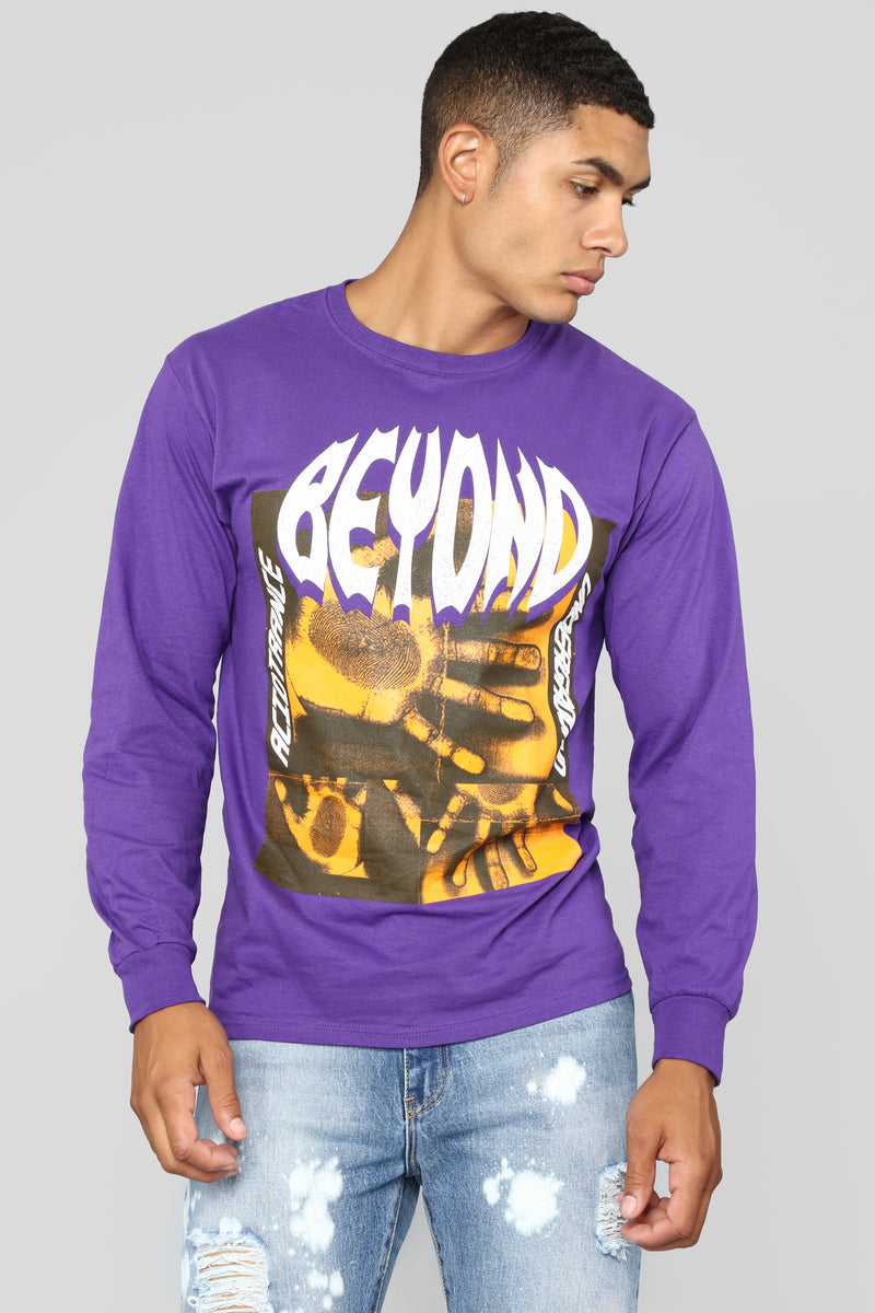 Beyond Acid LS Tee - Purple