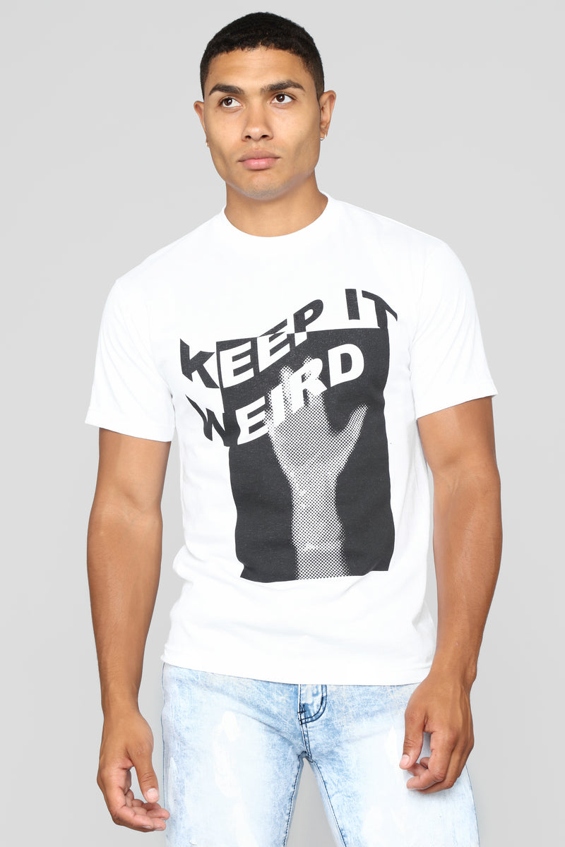 Keep It Weird Tee - White