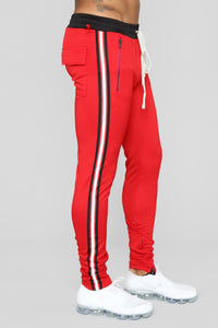 Ricky Track Pants - Red