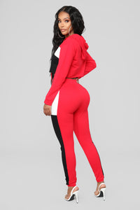 Tyra Lounge Set - Red
