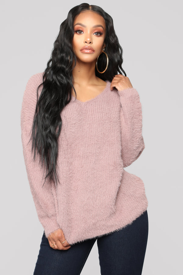 a7b9790989de Knot Your Girl Sweater - Dusty Lilac