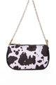 Trendsetter Crossbody Bag - Black/White