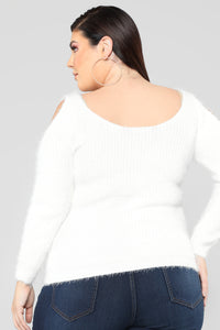 Second To None Sweater - Ivory