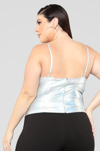 Roxy Strappy Top - Met Silver Angle 10