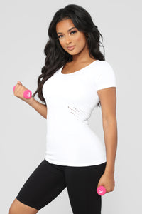 Lennox Performance Top - White