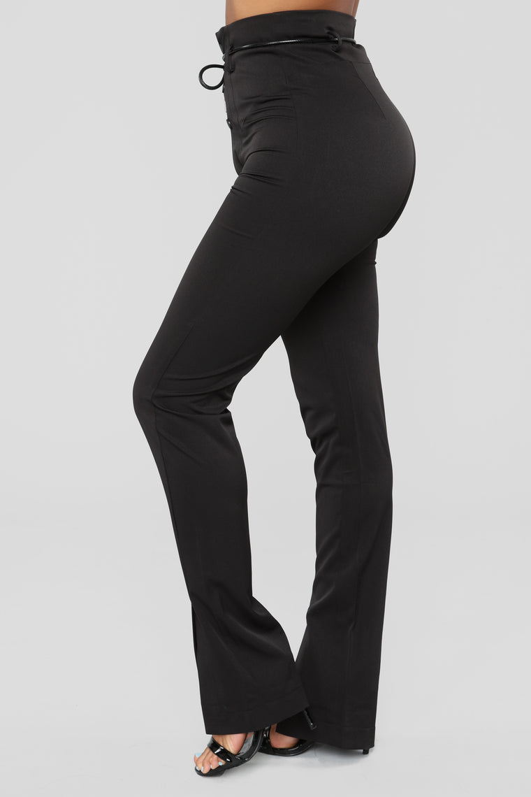 Feelin' Something For You Pants - Black