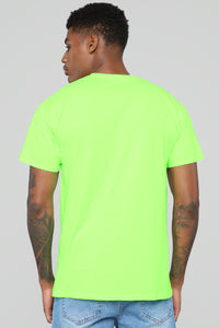 Euphoric Records Tee - Lime