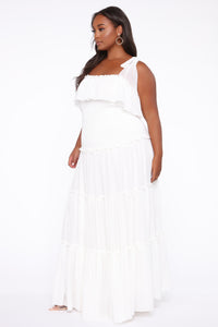 Searching For Your Love Maxi Dress - Off White Angle 3