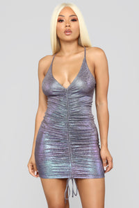 Under The Lights Dress - Purple