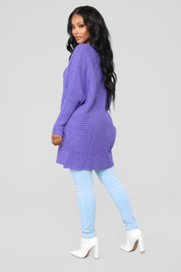 Lovin' Feelin' Sweater - Purple
