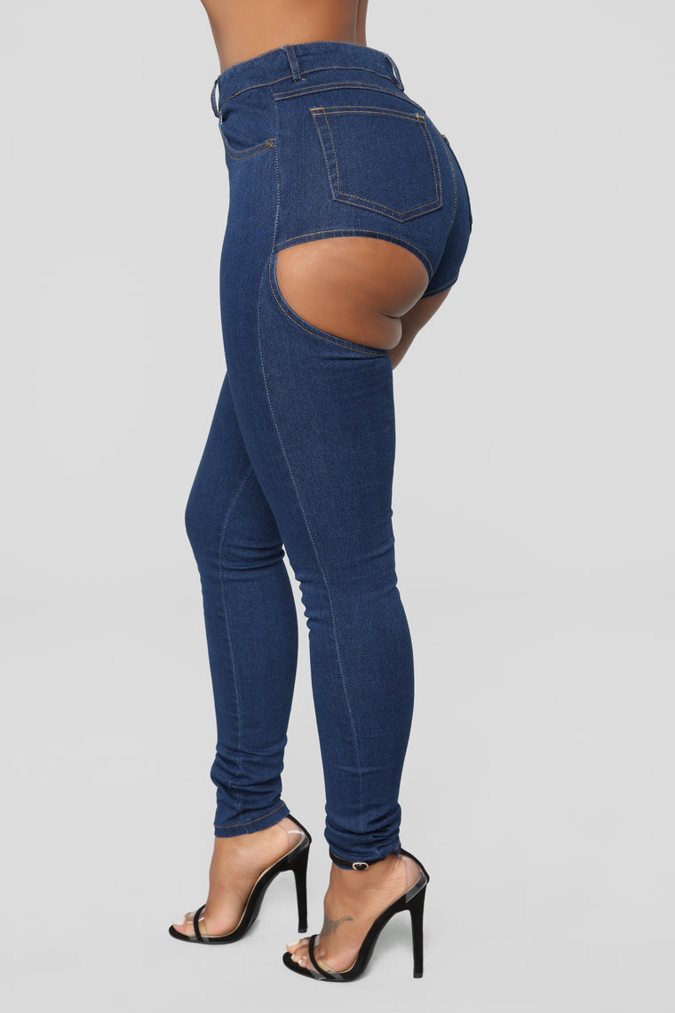 57192e91a65a Party In The Back Skinny Jeans - Dark Denim