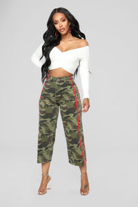 Wild Child High Rise Jeans - Camouflage