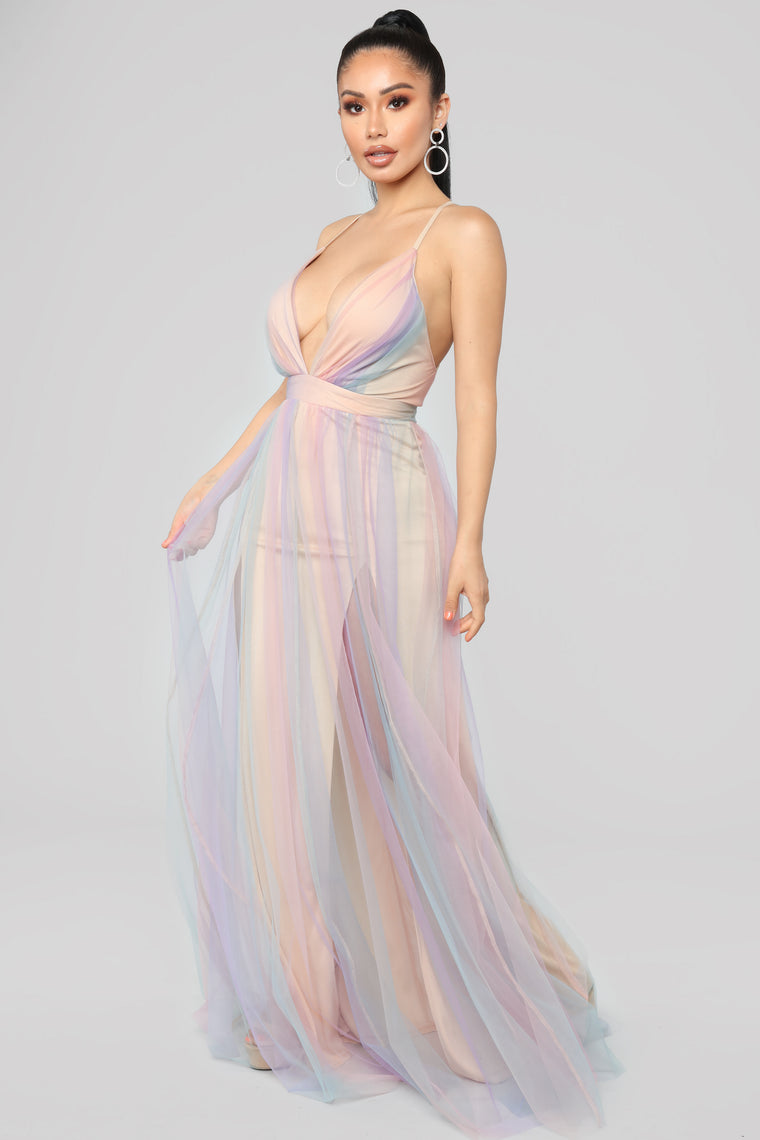 Sherbert Maxi Dress - MultiColor