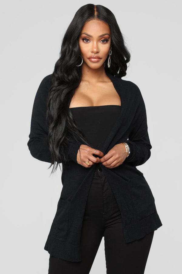 0cd550c51fba3b Ashley Cardigan - Black