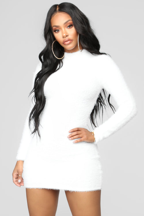 Beverly Hills Babe Dress - White