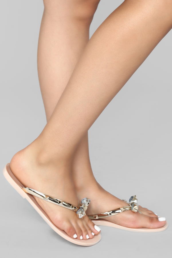 57935e8de9f0 I ve Got A Lover Sandal - Nude
