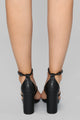 You And I Heel - Black
