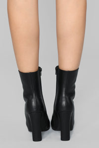 Up And Away Bootie - Black