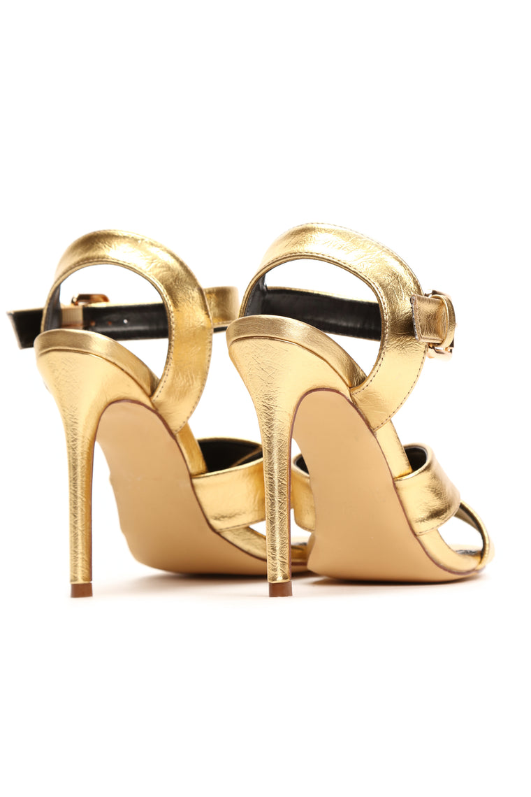 Up The Glam Heel - Gold