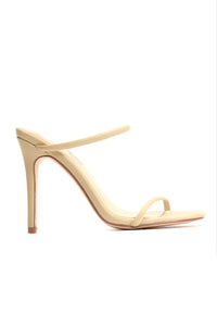 Flat Out Fabulous Heeled Sandal - Nude