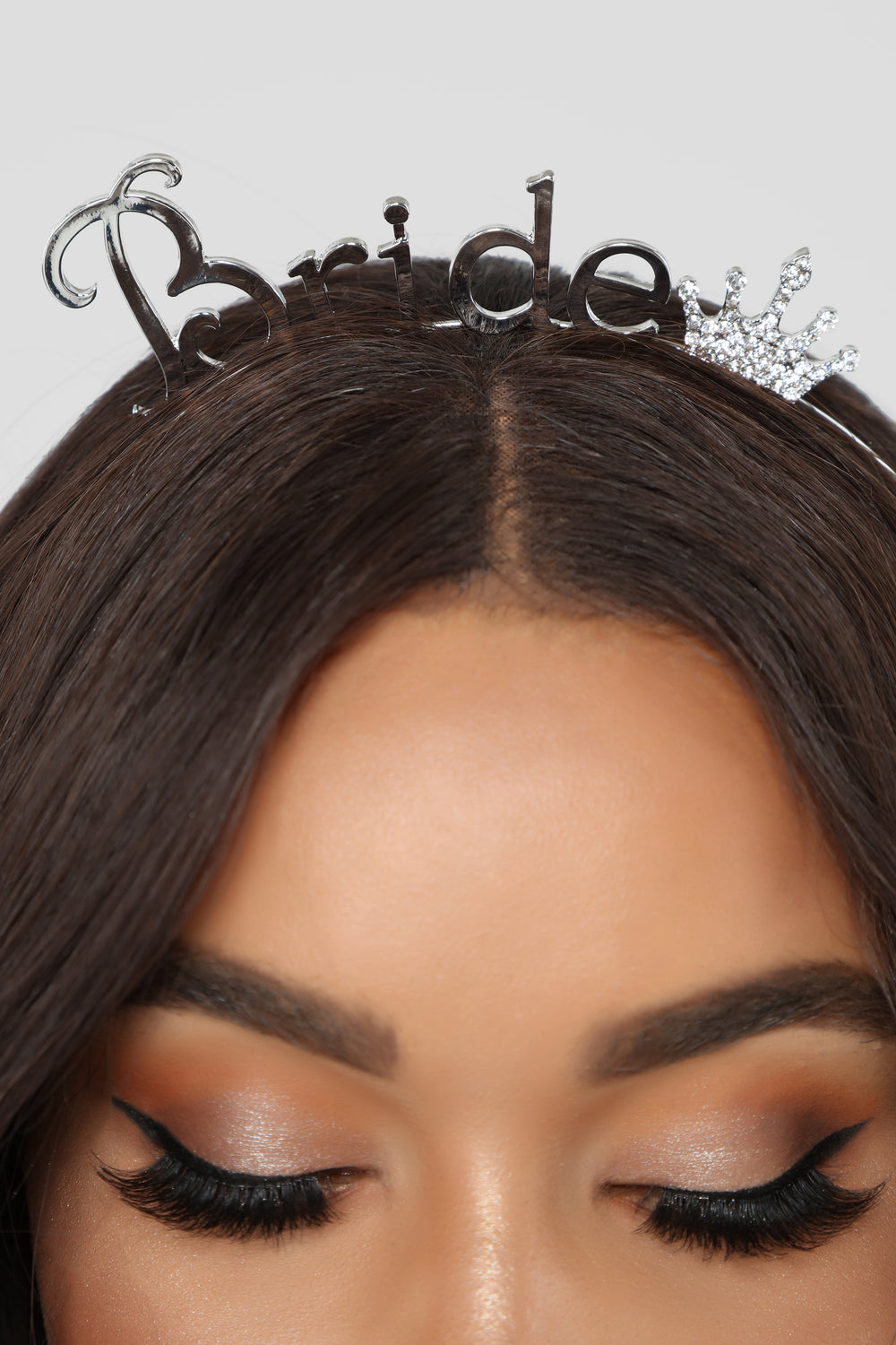 Bridal Queen Headband - Silver