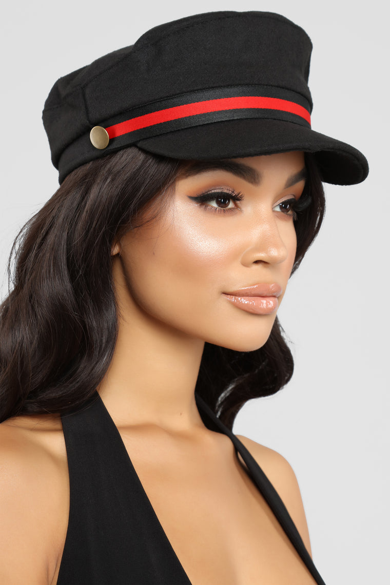 Calling A Ride Cabby Hat - Black
