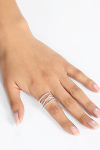 Happily Single Ring - Silver Angle 1
