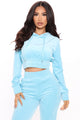 Stick Around Jogger Set - Blue