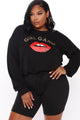 Girl's In The Gang Sweatshirt - Black