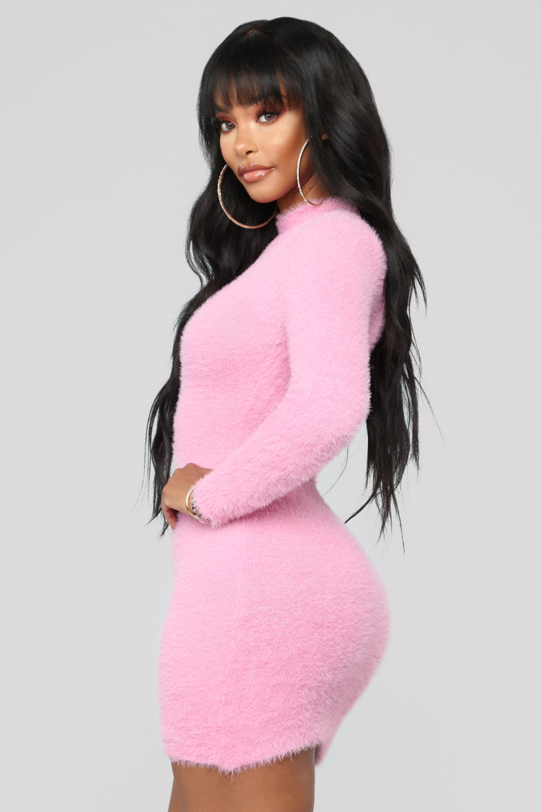 Beverly Hills Babe Dress - Pink