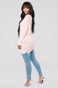 We Found Love Sweater - Pink