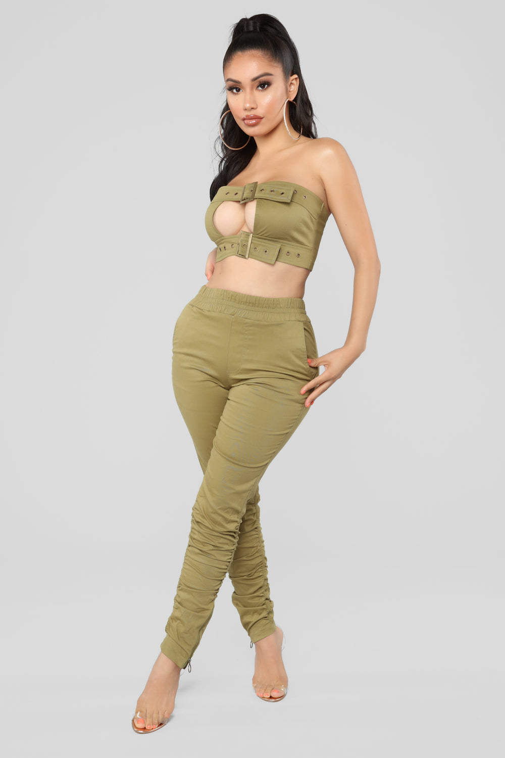 Major Babe Set - Olive