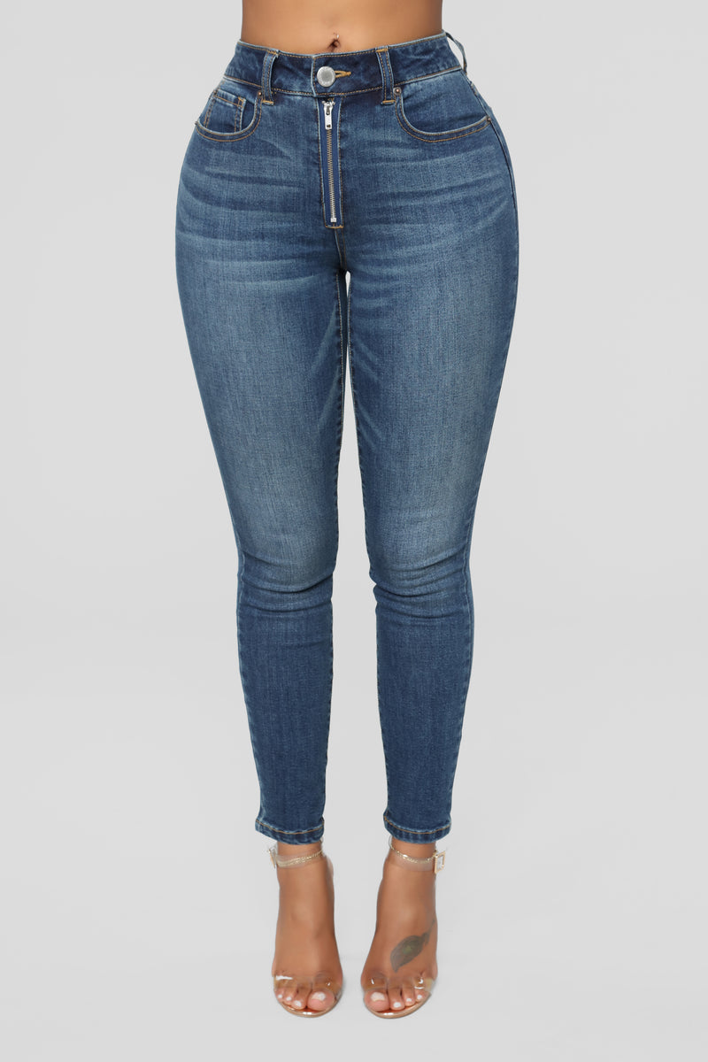 Tough Love High Rise Jeans - Dark Denim