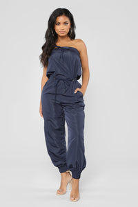 Lovin' You Tube Jumpsuit - Navy
