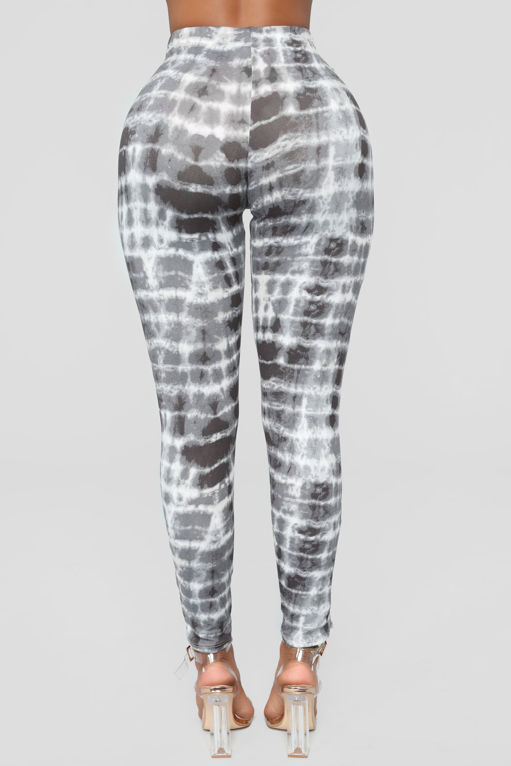 Don't Tye Me Down Leggings - Charcoal