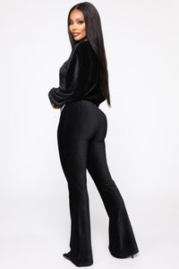 In My Feels Pant Set - Black Angle 3