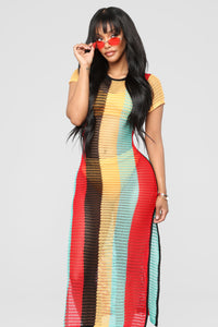 Guadeloupe Cover Up - MultiColor