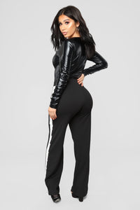 Don't Give Me Sass Bodysuit - Black