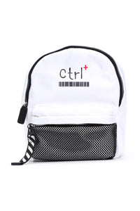Ctrl Backpack - White