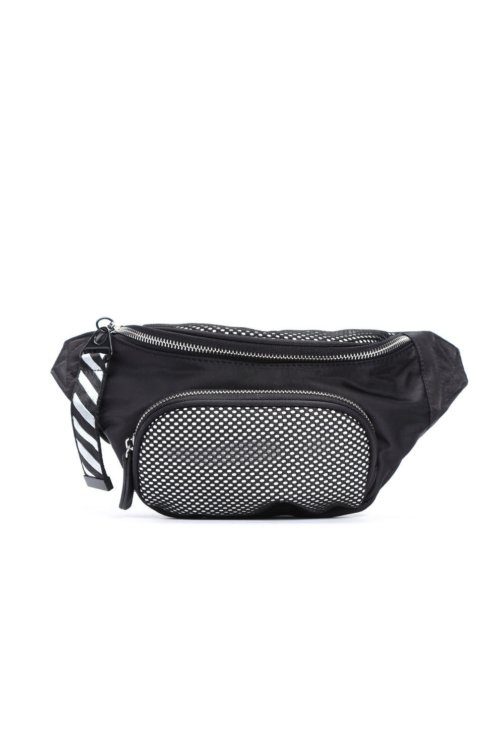 Never Off Beat Fanny Pack - Black