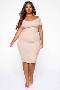 Susana's Love Dress - Taupe
