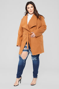 Manhattan Coat - Cognac Angle 8